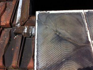 Vitre de toit cassée vitrier 78